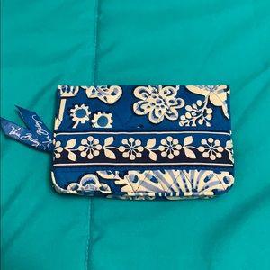 EUC Vera Bradley Blue Lagoon Wallet